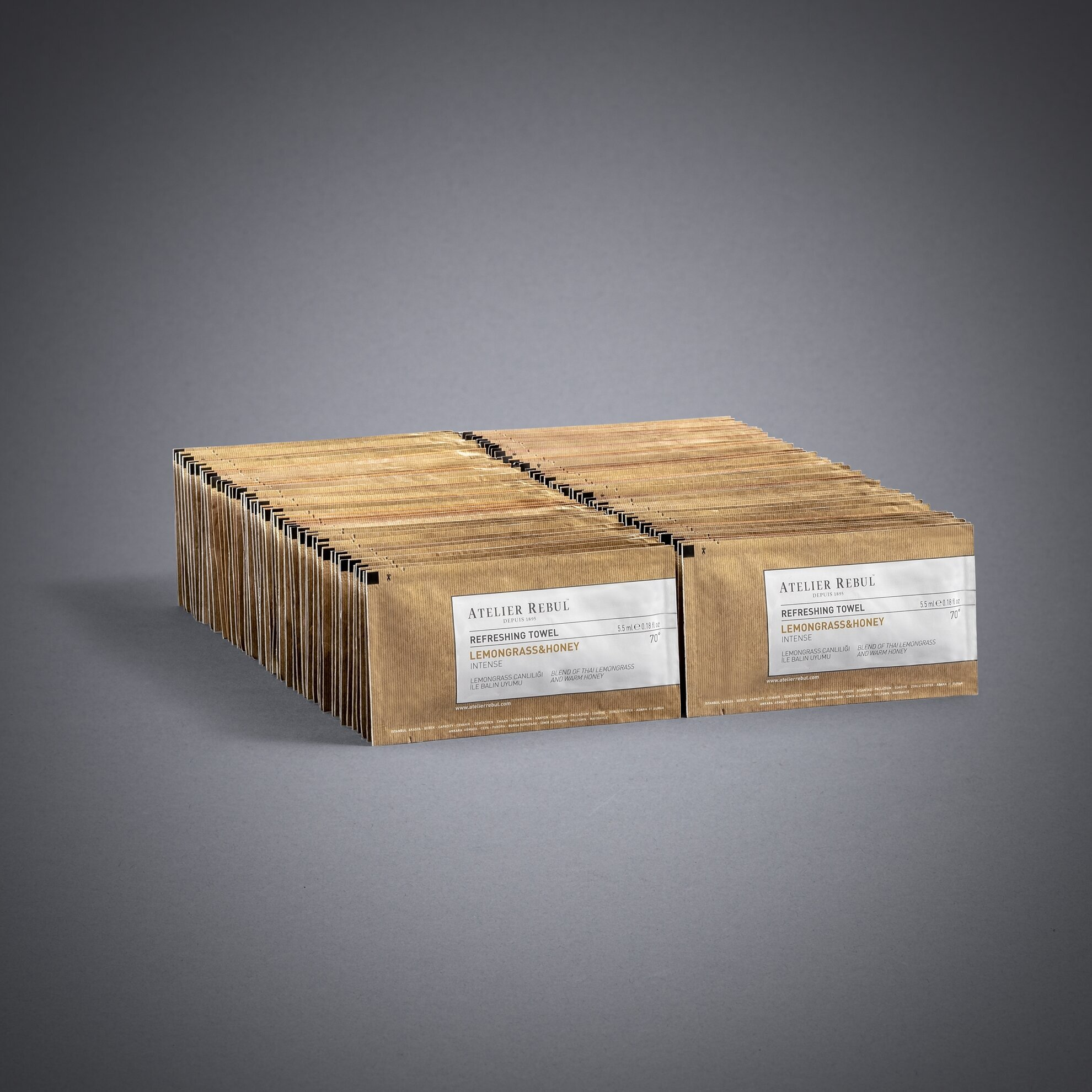 Limonotu & Bal Kolonyalı Mendil 100'lü Paket