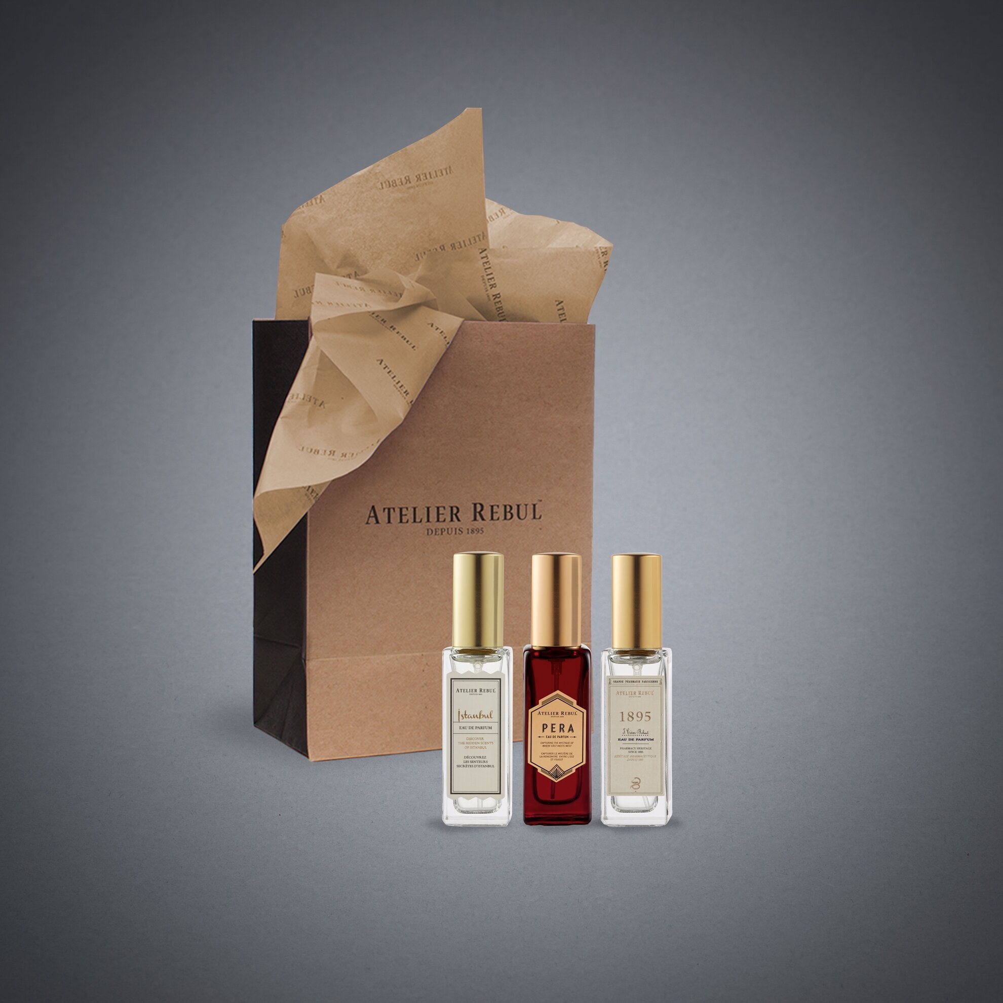 İmza Koleksiyonu 12ml 3'Lü Parfüm Seti