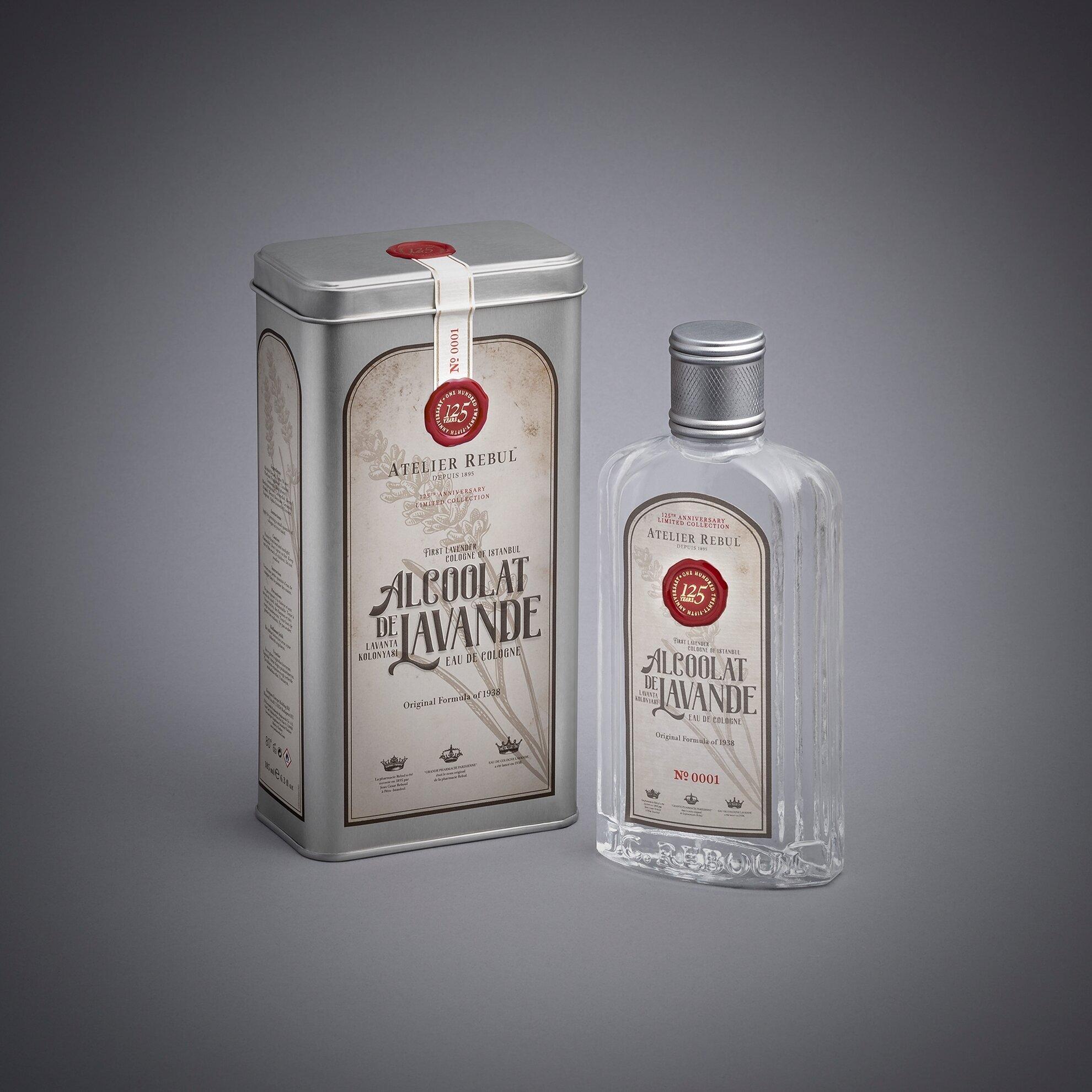 Alcoolat de Lavande 185 ml (İkonik Lavanta Kolonyası)