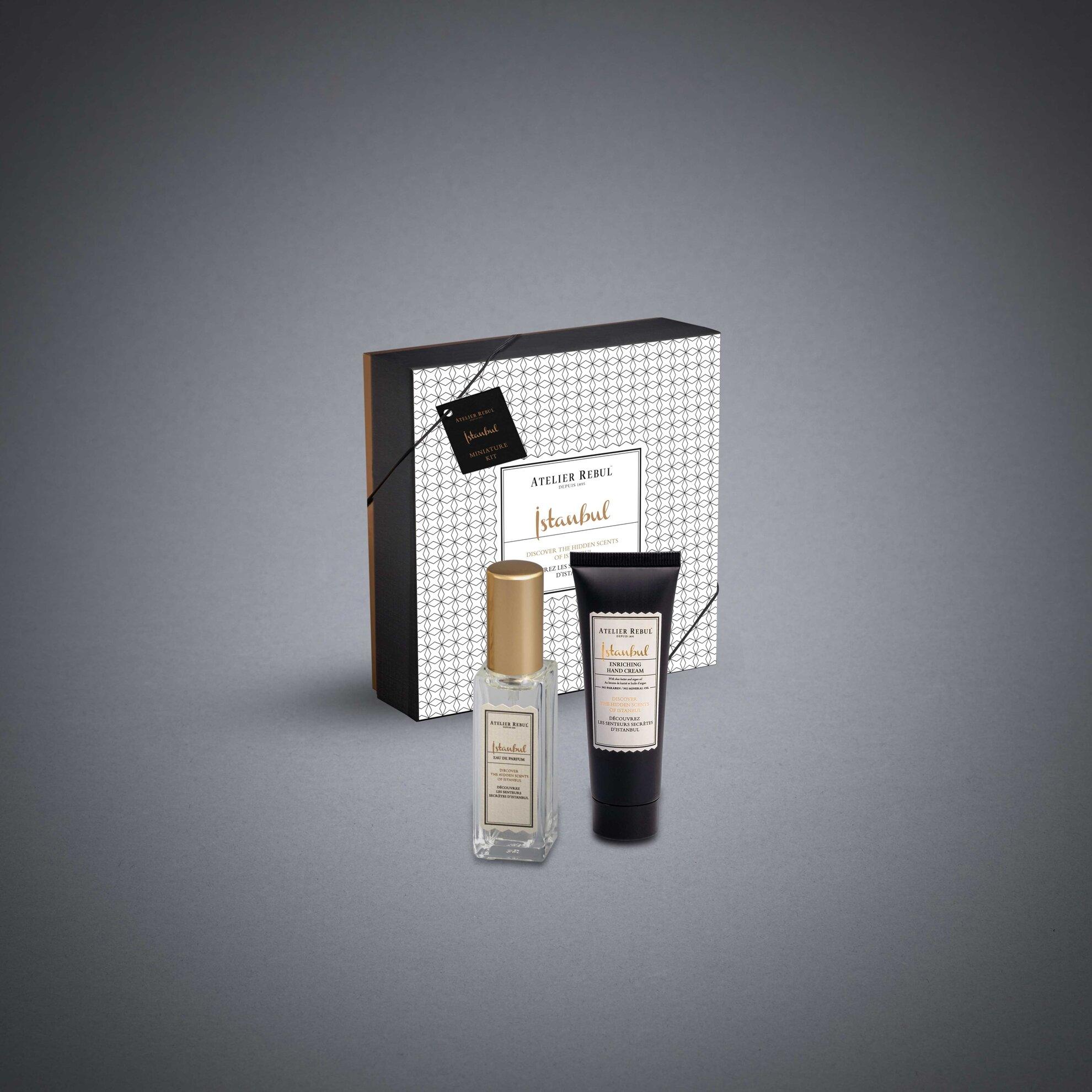 Istanbul Miniature Perfume Kit