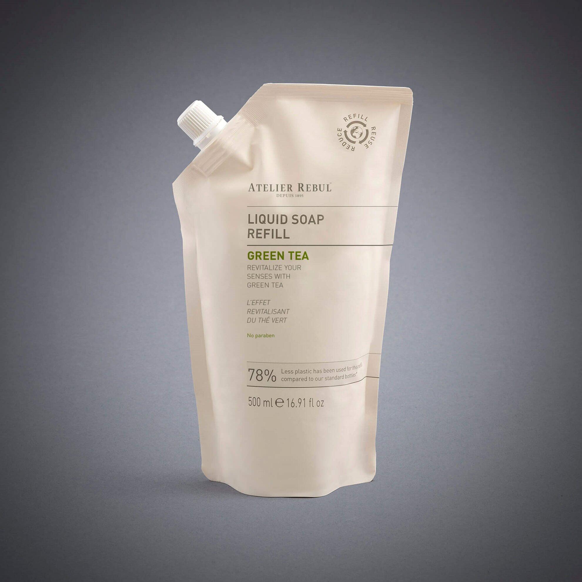 Yeşil Çay Sıvı Sabun 500 ml Refill