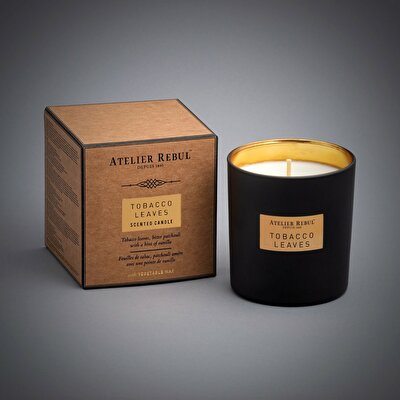 Picture of Tobacco Leaves Scented Candle 210gr