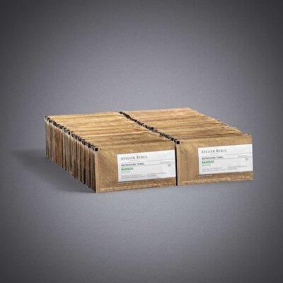 Bambu Kolonyalı Mendil 100'Lü Paket